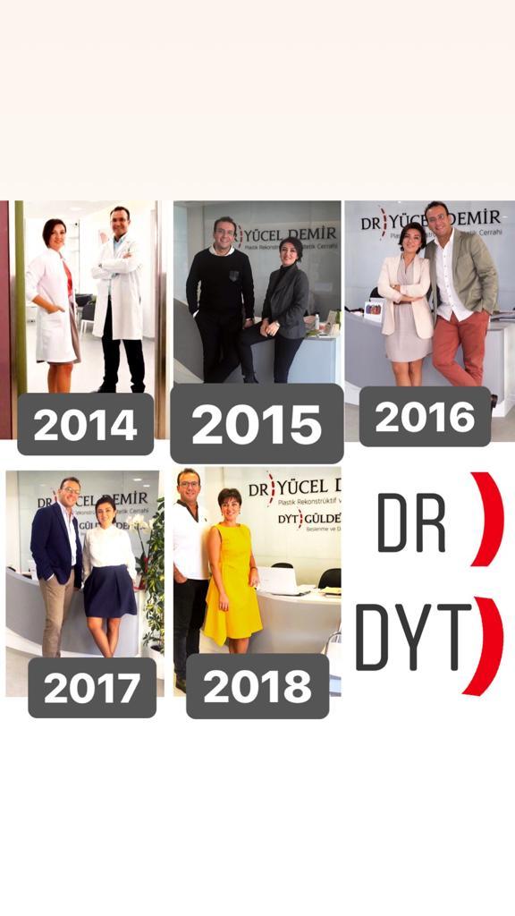 Yıllar için Diyetisyen Gülden Demir ve Estetik Cerrah Yücel Demir fotoğrafları